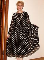 Женское платье в горох , фото 3
