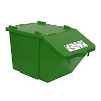 Контейнер для сортировки продукции или отходов Filmop 45 л зеленый (3667F)