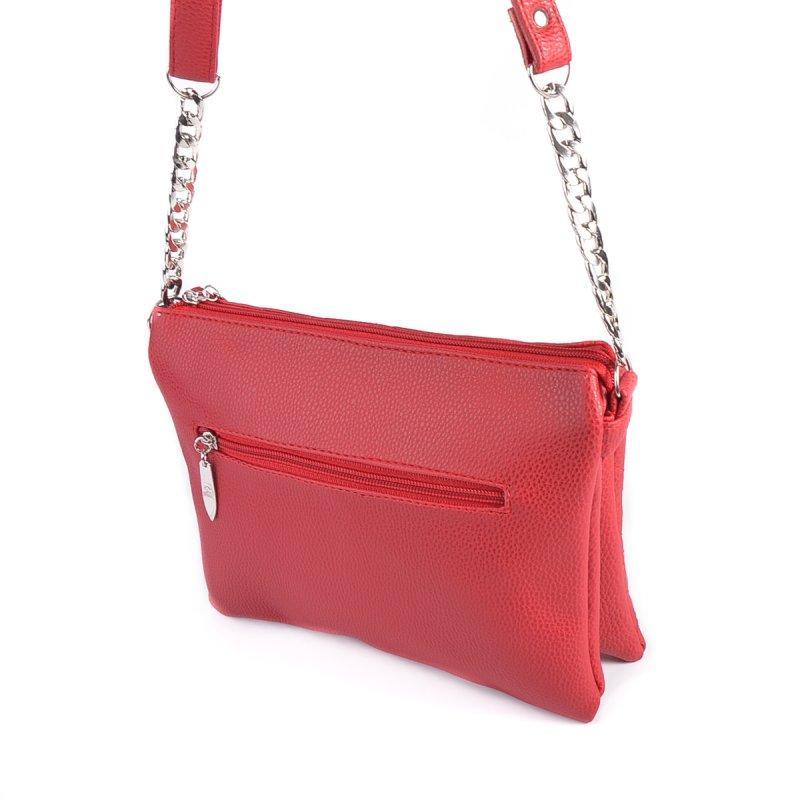 0e2c36f72587 Красная сумка-клатч М202-68 на молнии через плечо, цена 345 грн., купить в  Днепре — Prom.ua (ID#930540026)