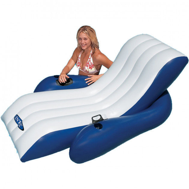 Надувное кресло-шезлонг для плавания Intex 58868