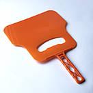 Решетка для гриля на мангал из нерважейки (36*32 см) + веер, фото 4