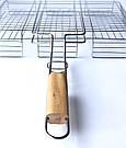 Решетка для гриля на мангал из нерважейки (43*33 см), фото 3