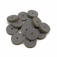 Круг каучуковый 18х4 мм (черный/грубый) 237