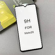 Защитное стекло 5D на Huawei Mate 20 Black
