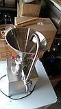Коллоидная мельница (гомогенизатор) Veкtor-MJC-60 для приготовления  паст (металлические жернова), фото 4