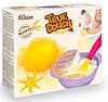 Желтое тесто для лепки натуральное, мерная ложка, миска для замешивания, TrueDough