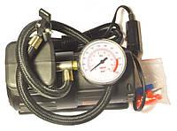 Компрессор автомобильный электрический с манометром. 2,5 Атм,12В