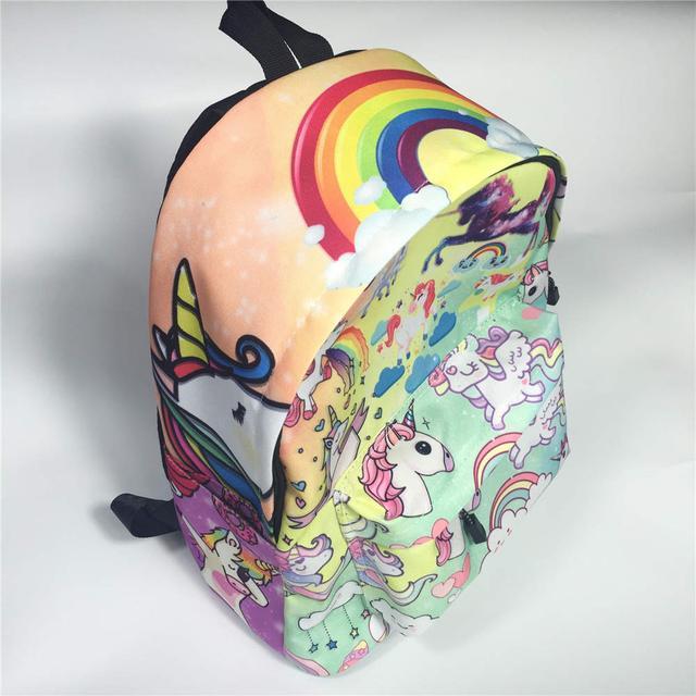 Рюкзак мультяшный Единорог