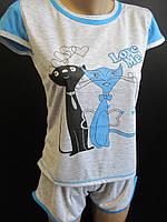Красивые пижамы с животным принтом.