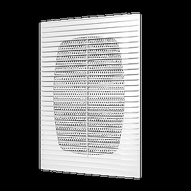 Решетка приточно-вытяжная с москитной сеткой, прямые жалюзи, ABS, 134х134 мм, Эра (60-005) шт.