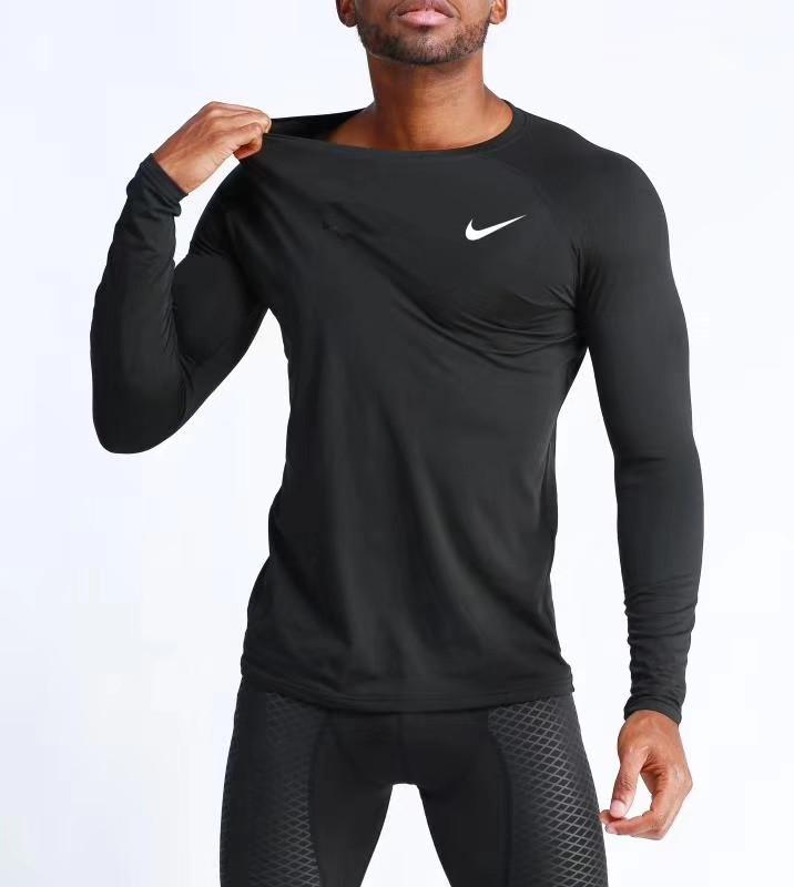 b62720ee Рашгард (лонгслив) Nike Pro Combat, спортивная компрессионная футболка с  длинными рукавами - Интернет