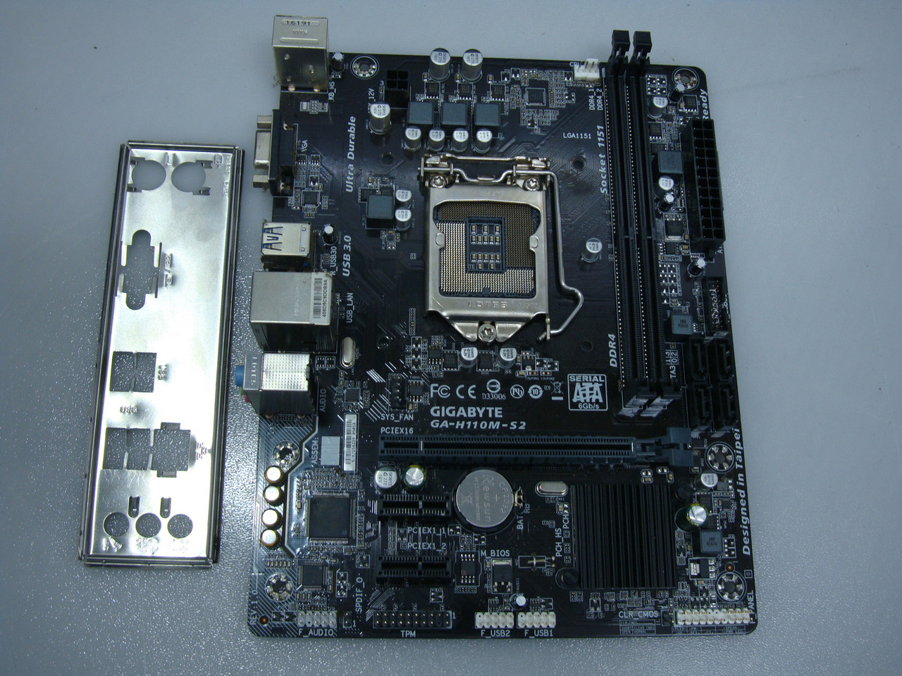 Материнская плата Gigabyte GA-H110M-S2 (s1151, Intel H110, PCI-Ex16)