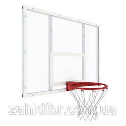 Щит баскетбольний тренувальний 1200 х 900 мм з полікарбонату