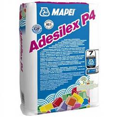 Клей для плитки Mapei Adesilex P4 Серый 25кг
