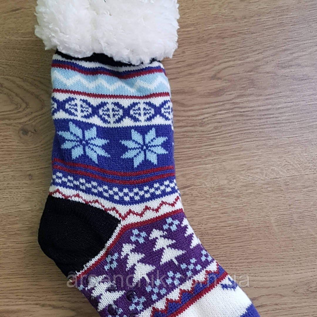 """Носки шерстяные на меху женские """"Bagi Wool"""" 36-38"""