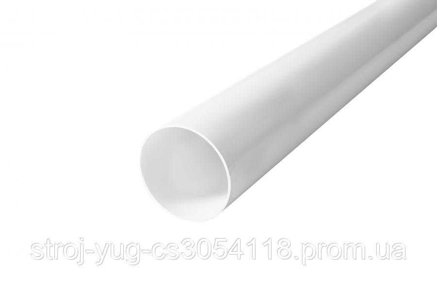 Труба водостічна Profil 100 біла 4м