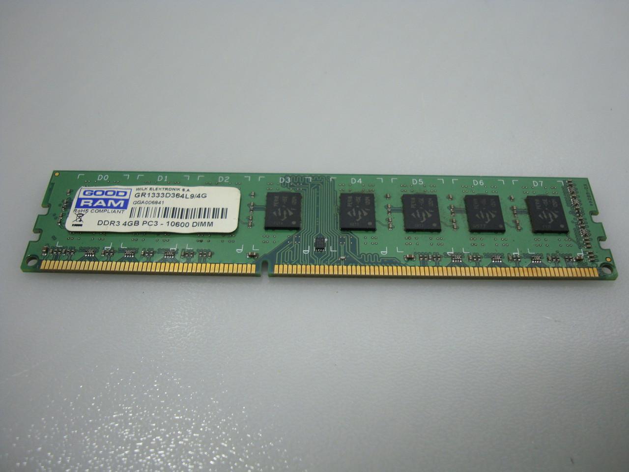 Оперативная память Goodram DDR3-1333 2048MB PC3-10600