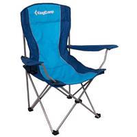 Раскладное кресло KingCamp Arms Chairin Steel (Arms Chairin Steel(KC3818) Blue)