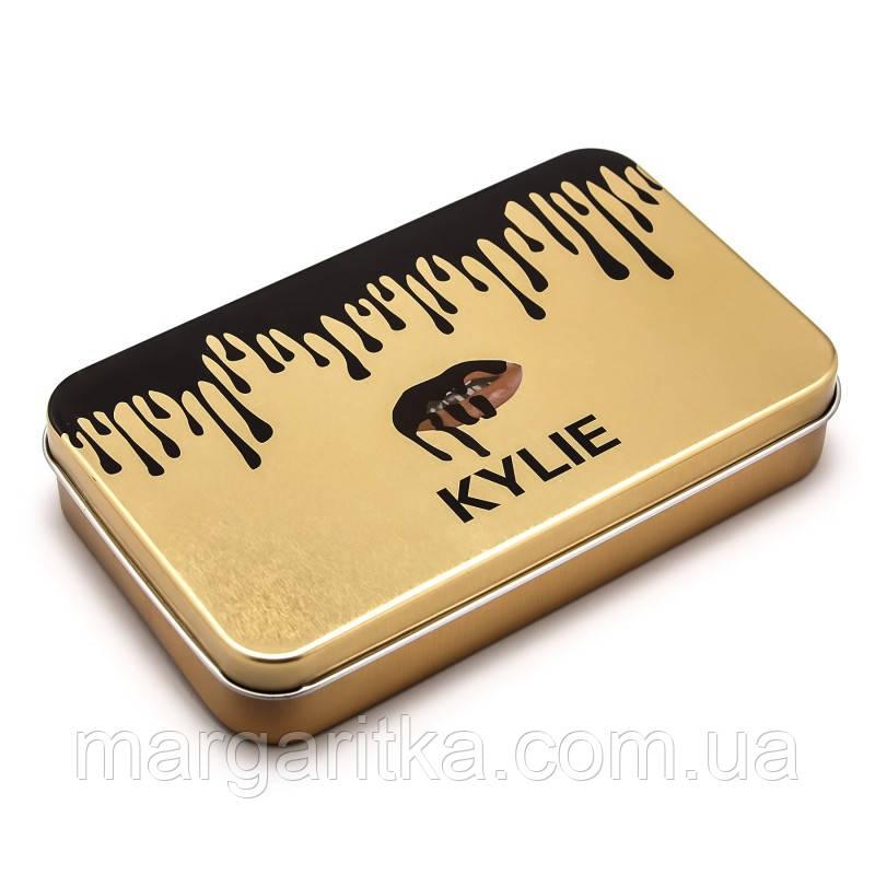 Набор кистей для макияжа Kylie Gold 12 in 1 (Копия)