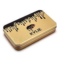 Набор кистей для макияжа Kylie Gold 12 in 1 (Копия), фото 1