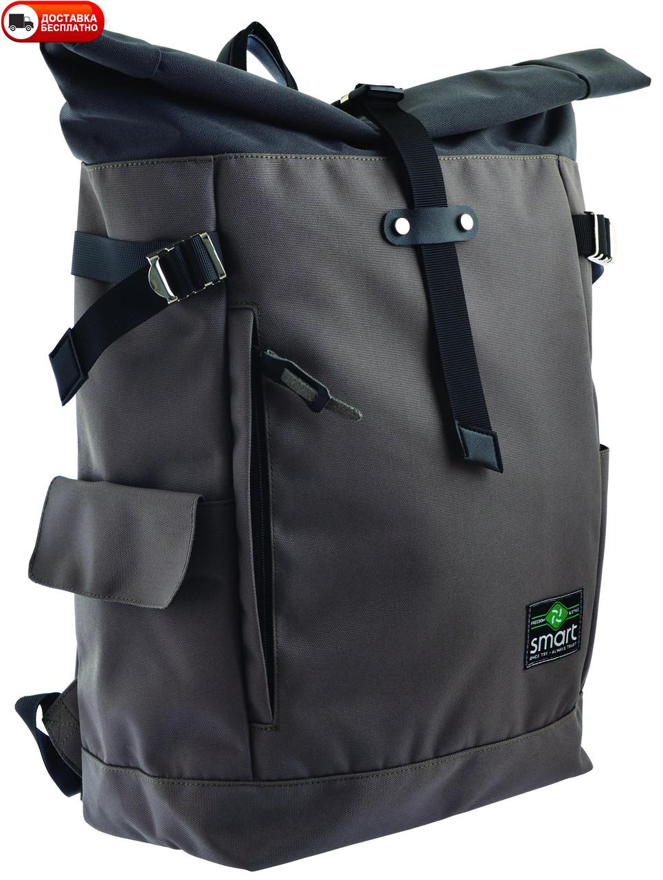 Рюкзак SMART 557518 Roll-top T-69 Khaki
