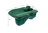 Автомобильный матрас KingCamp Backseat Air Bed (BACKSEAT AIR BED(KM3532) Green)