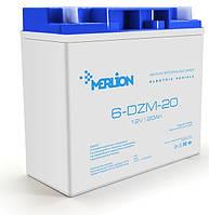 Аккумулятор тяговый Merlion 6DZM20 12V/20Ah для электро транспорта