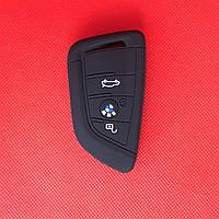 Чехол силиконовый для СМАРТ ключа БМВ BMW X3 X5 Z3 Z4 M5 325i E38 E39 E46 3 Кнопки