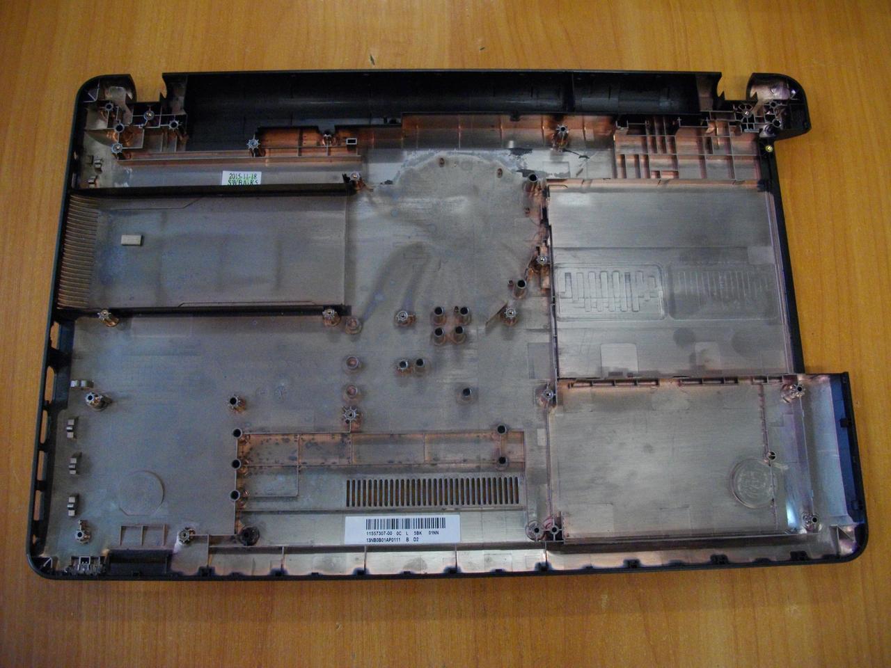 Корпус низ Нижняя часть корпуса Asus X540L БУ
