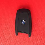 Чехол силиконовый для СМАРТ ключа БМВ BMW X3 X5 Z3 Z4 M5 325i E38 E39 E46 3 Кнопки, фото 2
