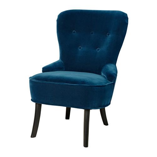 Кресло, Джупарп зеленый-синий IKEA REMSTA 603.447.59