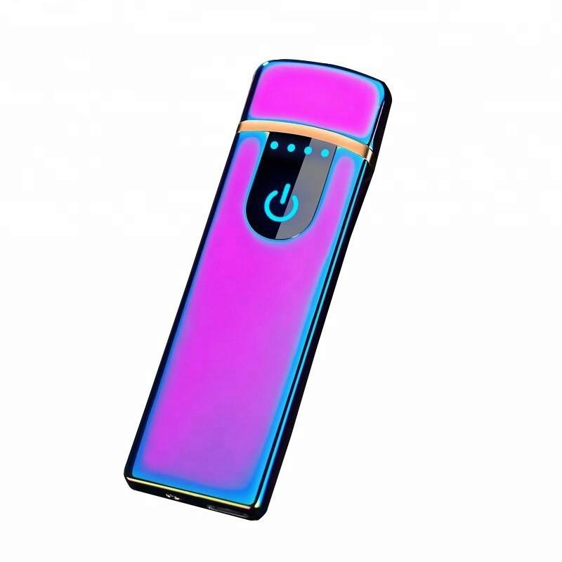 Электроимпульсная зажигалка SUNROZ TH-752 портативная электронная USB зажигалка Хамелион
