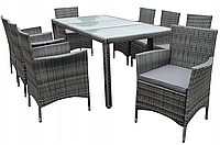 Комплект мебели из техноротанга  на 8 персон Grande XL