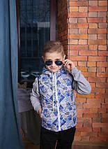 Жилетка Детская Жилет для мальчика Детский жилет купить Новинка 2019 Топ продаж Подарок сумка, фото 3