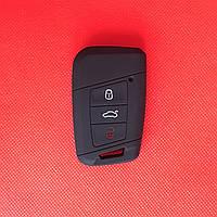 Чехол выкидного авто ключа для VOLKSWAGEN Passat (Фольксваген Пассат) 3 - кнопки