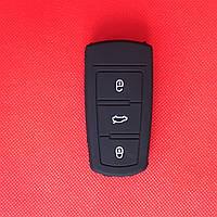 Чехол выкидного авто ключа для VOLKSWAGEN Passat B6 B7 CC (Фольксваген Пассат) 3 - кнопки