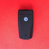 Чехол выкидного авто ключа для VOLKSWAGEN Passat B6 B7 CC (Фольксваген Пассат) 3 - кнопки, фото 2