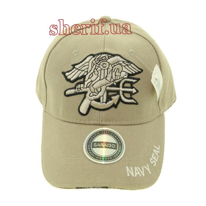 Кепка бейсболка Fishermen Navy Seal TAN BE0442UA
