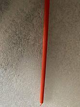 Свеча тонкая  100%  восковая  (оранжевого цвета)