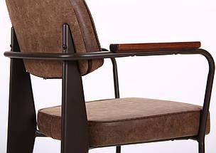 Кресло Lennon кофе / лунго TM AMF, фото 3