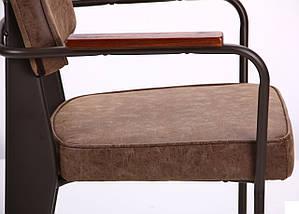Кресло Lennon кофе / лунго TM AMF, фото 2