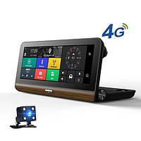 Авто-регистратор  DVR T7 - 3 в 1 Android - Регистратор - GPS Навигатор + Камера Заднего Вида