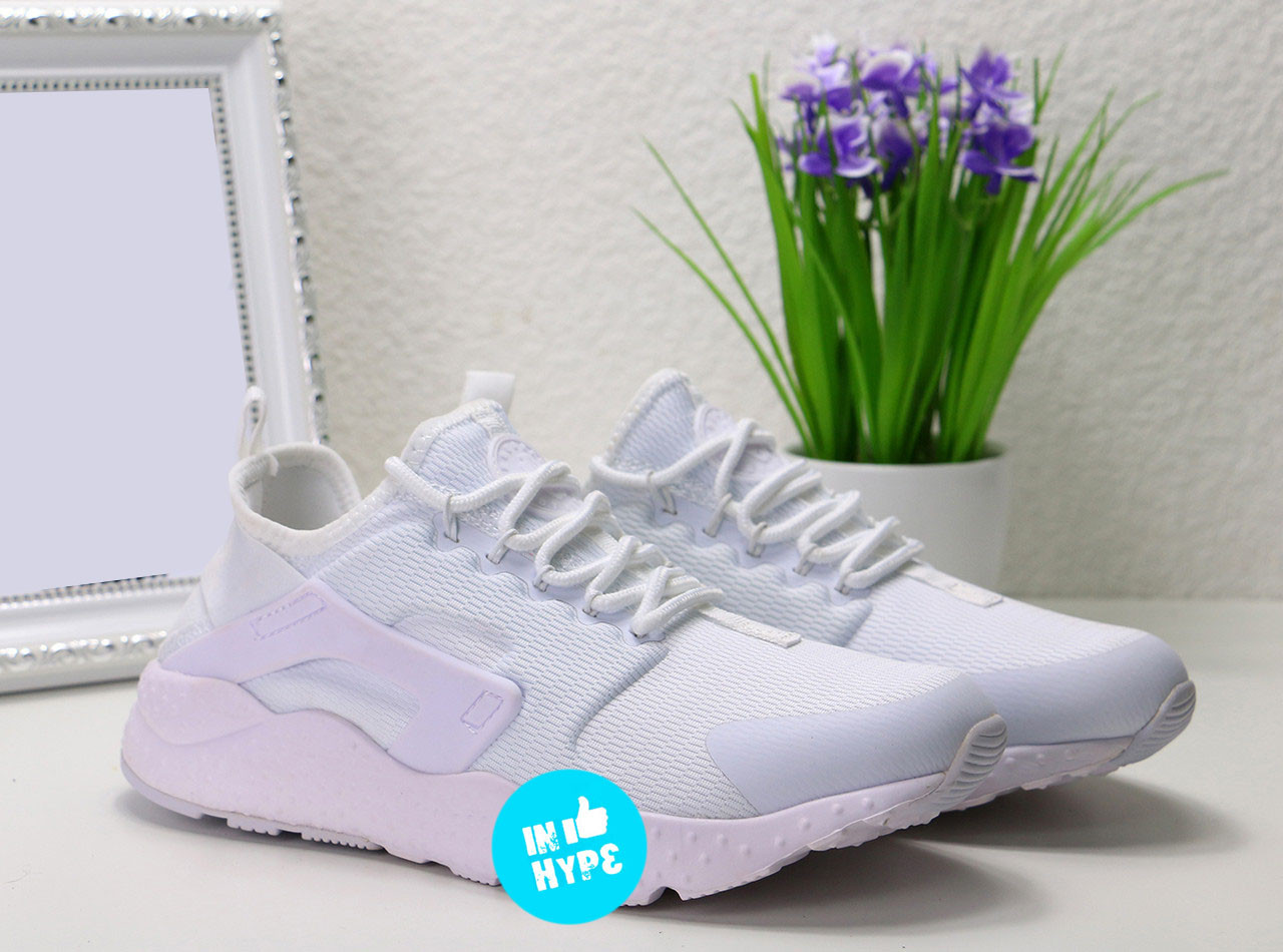 Кроссовки женские Nike Air Huarache Run Ultra JCRD White |  Найк Аир Хуараче Ран Ультра