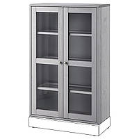 Сервант IKEA HAVSTA 81x123x35 см серый 104.151.98