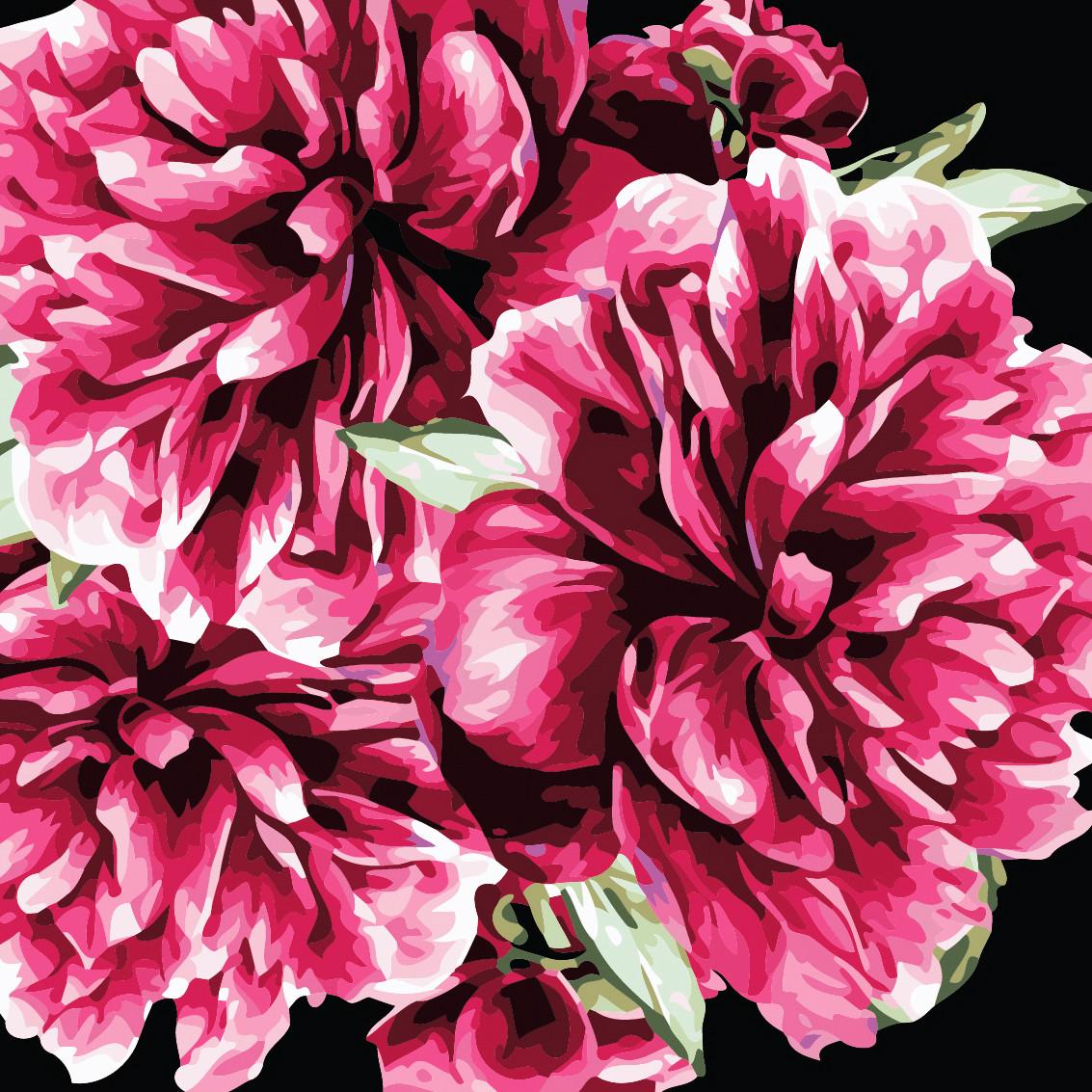 Художественный творческий набор, картина по номерам Цветы для тебя, 40x40 см, «Art Story» (AS0503)