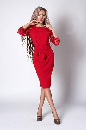 """Элегантное женское платье """"704"""", фото 2"""