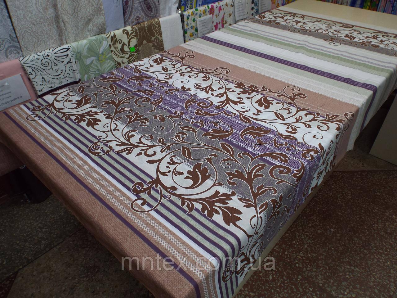 Ткань для пошива постельного белья Ранфорс Завитки