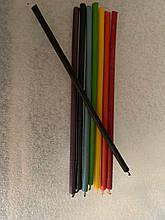 Набор восковых свечей для чакр 8 шт. 8 цветов