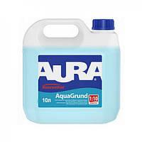 Aura Koncentrat AquaGrund 10 л Влагозащитный воднодисперсионный грунт-концентрат
