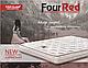 Матрац ортопедичний Four Red Rubin/Матрас ортопедический Рубин, фото 7